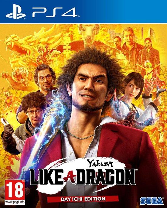 Yakuza - Like A Dragon - Day Ichi Edition - PS4 (incl gratis upgrade naar PS5 versie)