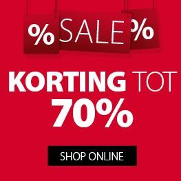 Sale, korting tot 70% @Jysk