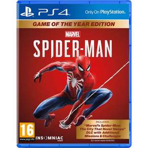 PS4 - Spiderman GOTY edition @ BCC/Wehkamp