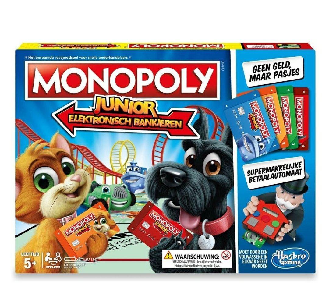 Monopoly elektronisch bankieren junior