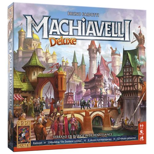 Machiavelli DeLuxe Basisspel incl. 2 uitbreidingssets