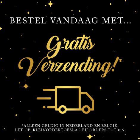Gratis verzending NL & België