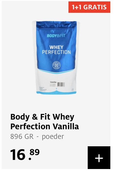 1+1 gratis Body & Fit producten bij Etos
