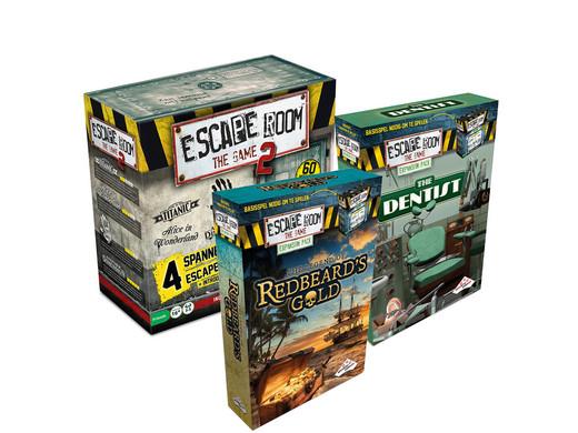 Escape Room The Game II (Basisspel Plus Uitbreidingen)