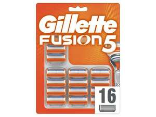 16x Gillette Fusion 5 mesjes