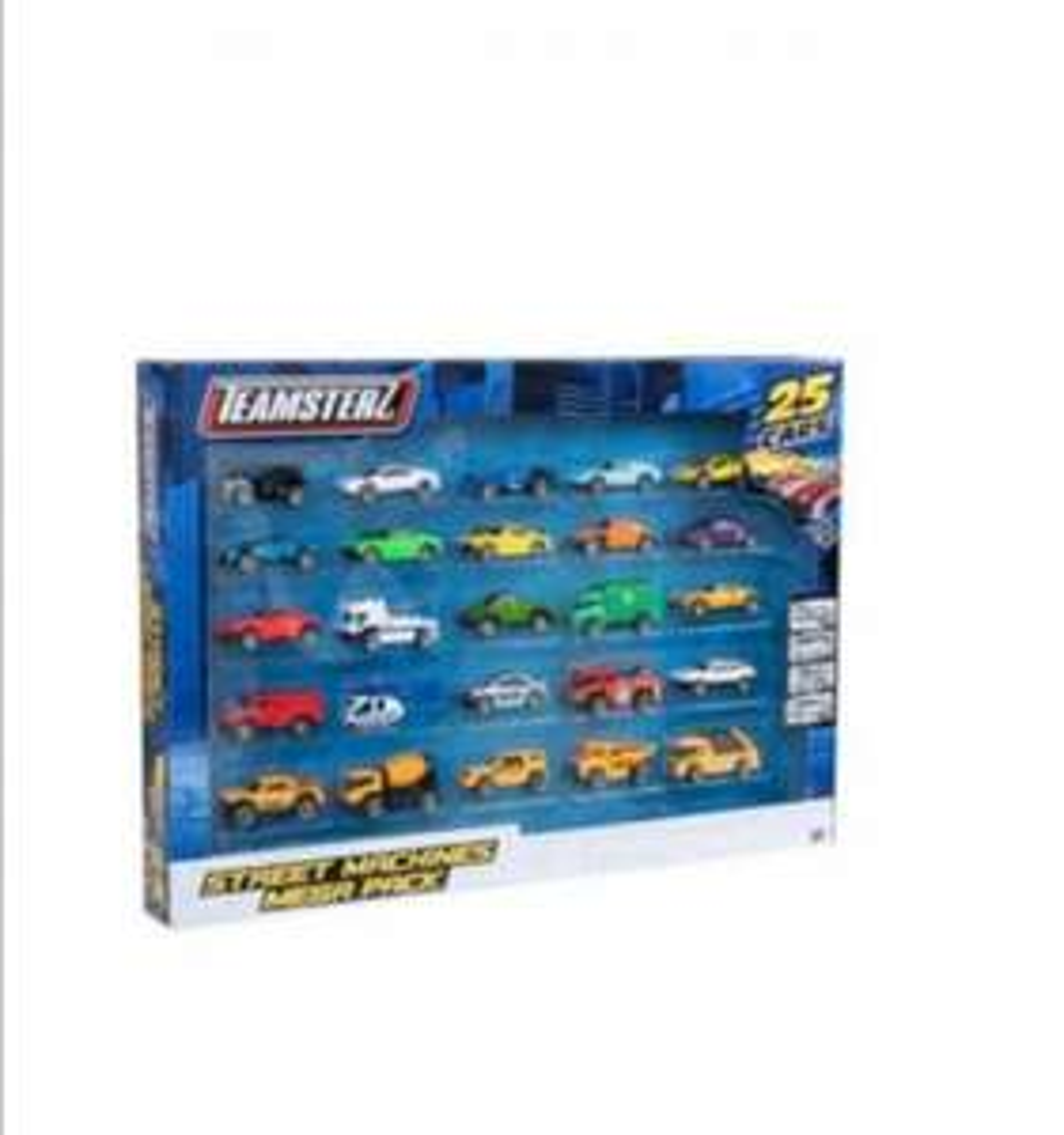 Teamsterz 25 auto's