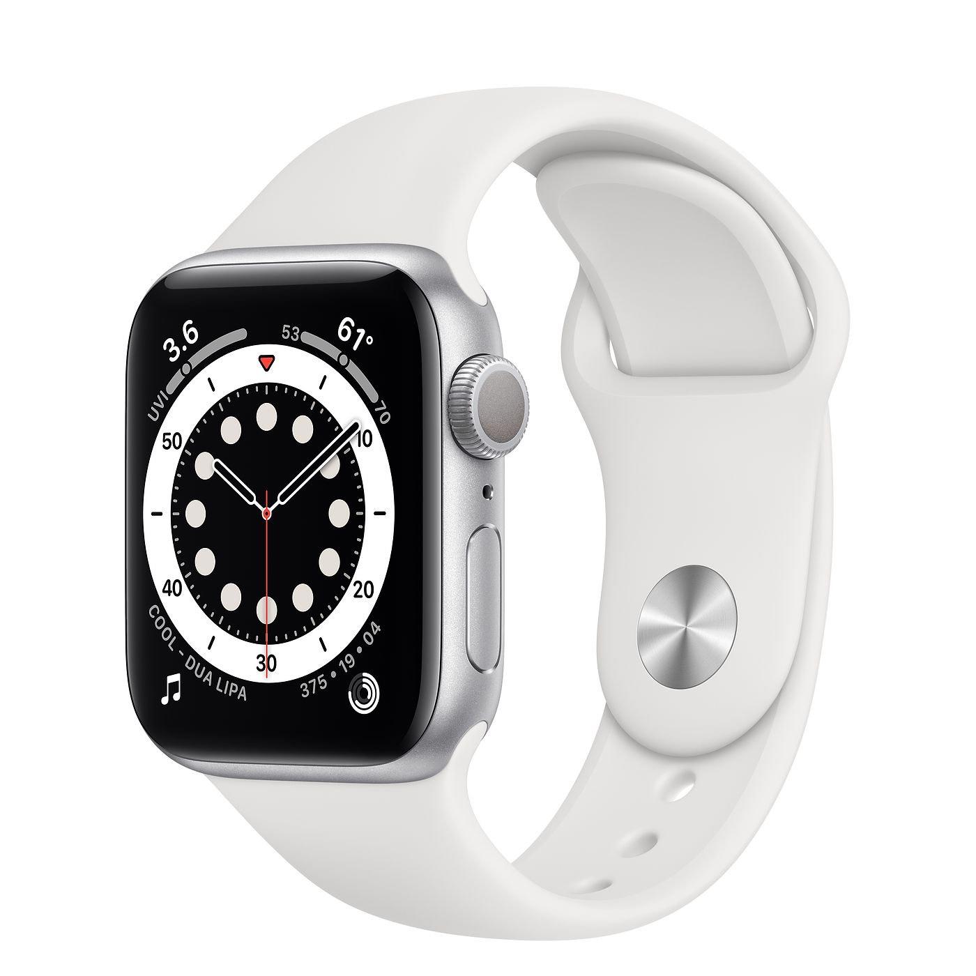 Apple watch 6 grijs 44 mm
