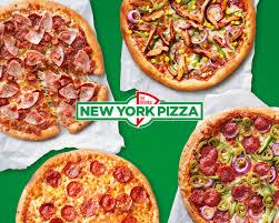 25CM NY-Style Pizza + Coca Cola voor €10,50