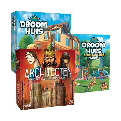 Architecten van het Westelijk Koninkrijk (& Droomhuis) - Bordspel