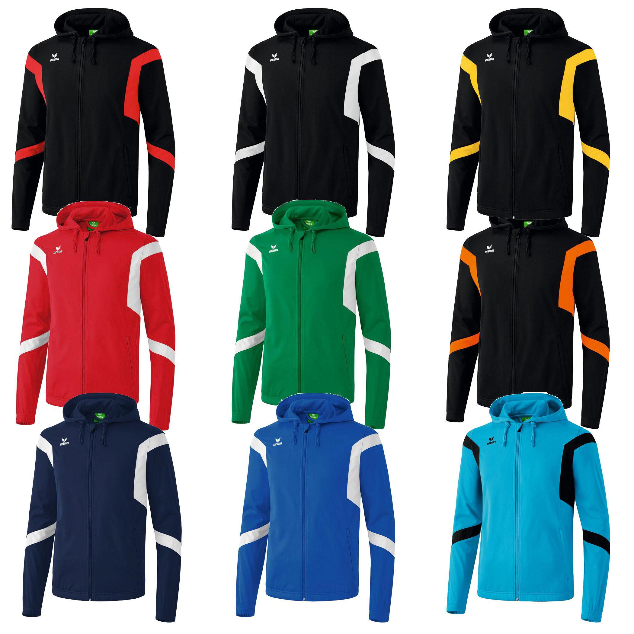 Erima zipped hoodies - heren & kids - @ Sport-Korting
