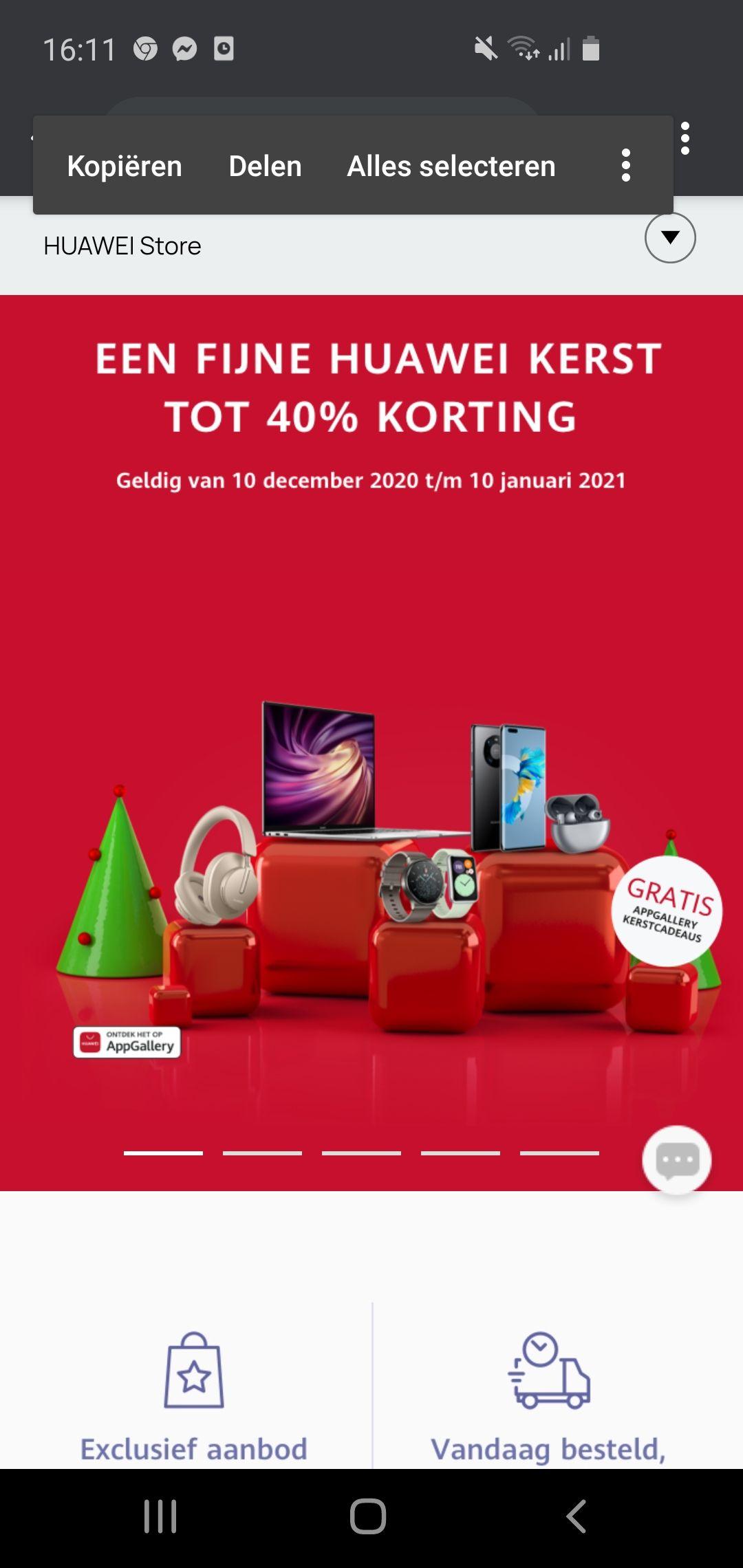 Huawei sale+ losse aanbiedingen