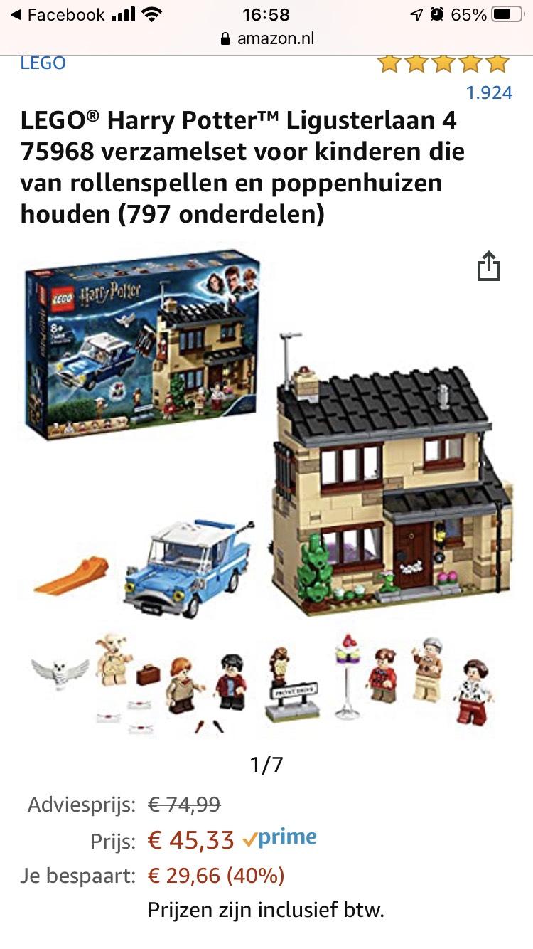 Lego Harry Potter Ligusterlaan 4 (75968)