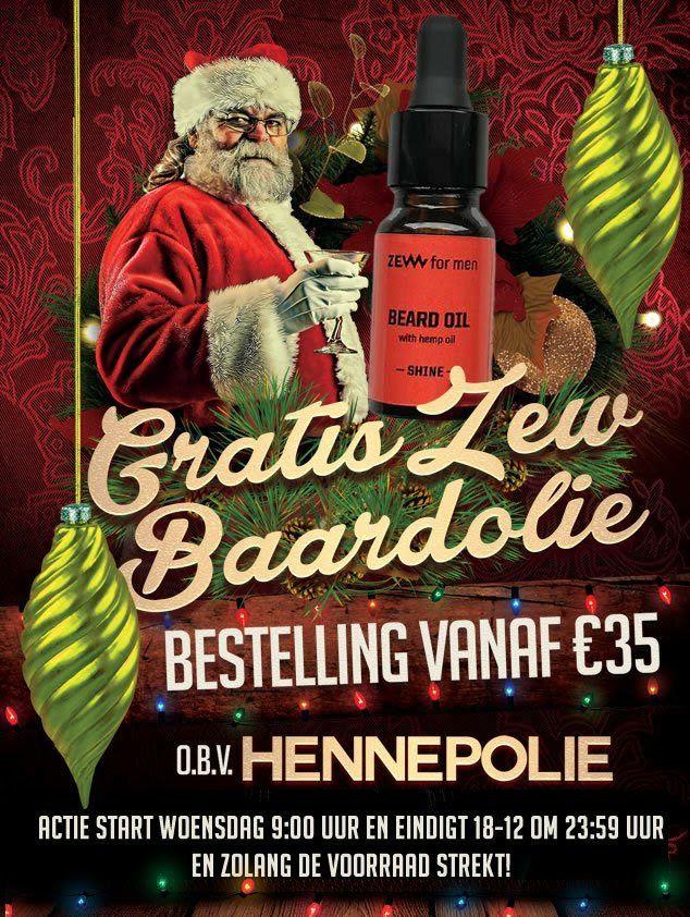 Verzorging voor mannen: 10% korting op cadeausets en gratis baardolie @Mijnbaard.nl