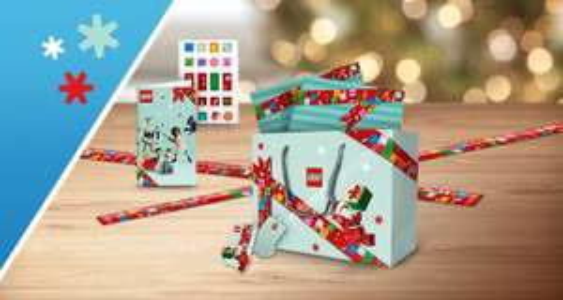 LEGO feestdagen-cadeauset kosteloos voor VIPS v.a. €40 besteding @ LEGO.com