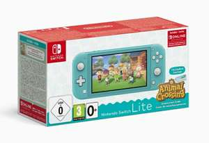 Nintendo Switch Lite Turquoise + Animal Crossing New Horizons + 3 maanden Nintendo Online