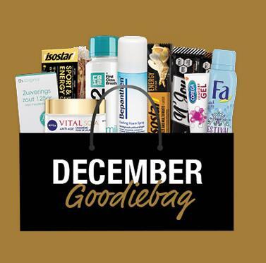 Goodiebag cadeau bij besteding van €100 @Drogisterij.net