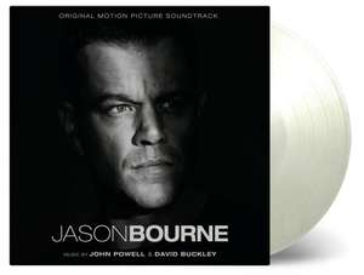 Jason Bourne OST 2xLP White Vinyl @amazon.nl