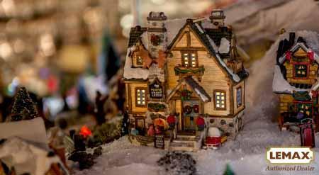 tot 20% korting op heel veel kersthuisjes @wishpel-village
