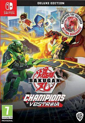 Bakugan: Champions of Vestroia, Deluxe editie, Nintendo Switch