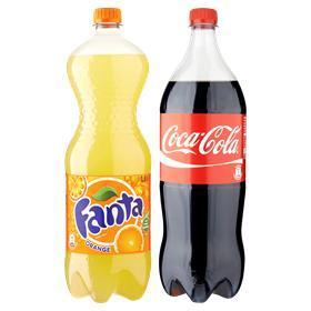 Super aanbieding bij Sahan Supermarkt: Coca-Cola en Fanta 1,5 liter flessen