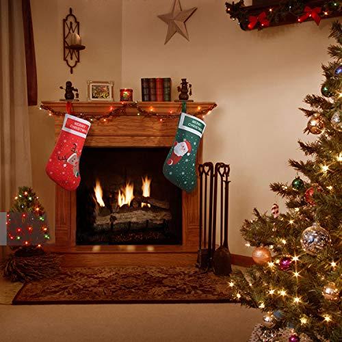 Kerstkousen, set van 2 laarzen, sneeuwpop, rendier,