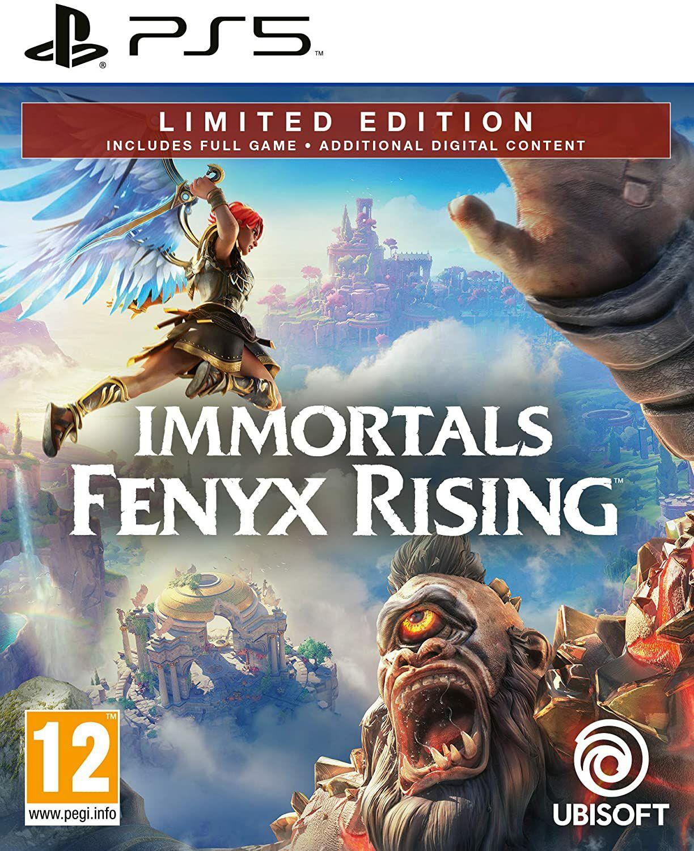 Immortals: Fenix Rising ps5 (via amazon.nl nóg iets goedkoper)
