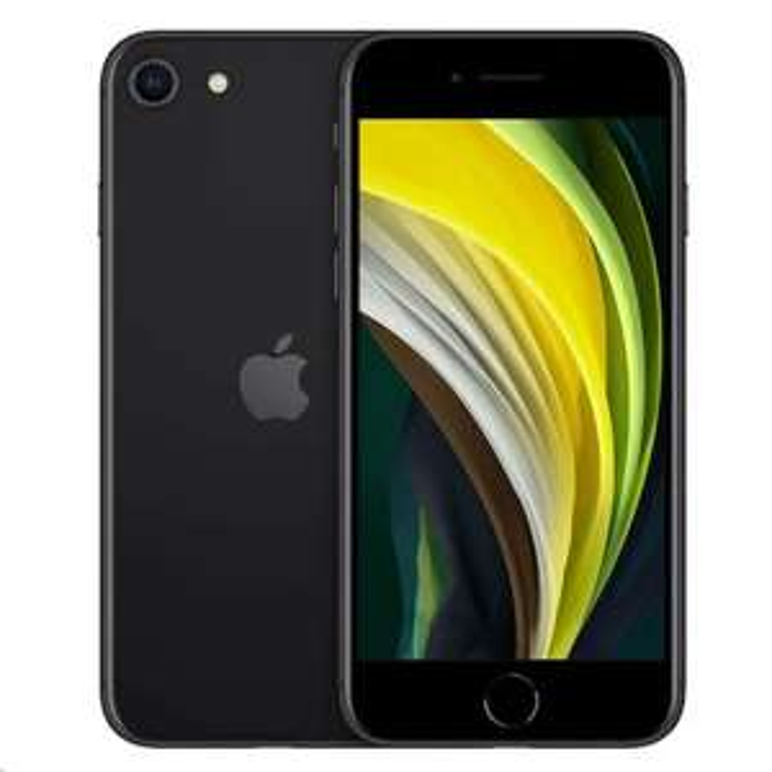 Apple iPhone SE 2020 64GB Zwart Dual Sim @techinthebasket (DE)