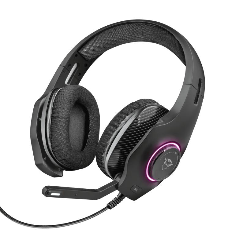 Trust GXT 455 Torus RGB Gaming Headset @ Levix