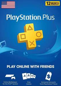 USA || Playstation Plus subscription 365 days