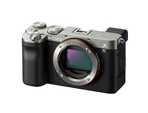 Sony A7C mirrorless camera!