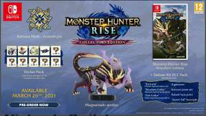 Monster Hunter Rise (Collector's Edition) - Nintendo Switch