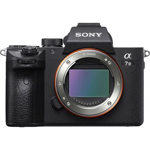 Sony A7iii mirrorless camera