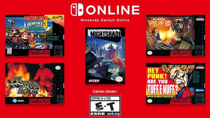 'Nieuwe' SNES & NES games gratis te spelen voor Nintendo Switch Online Members