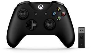 Microsoft Xbox Controller + Wireless Adapter