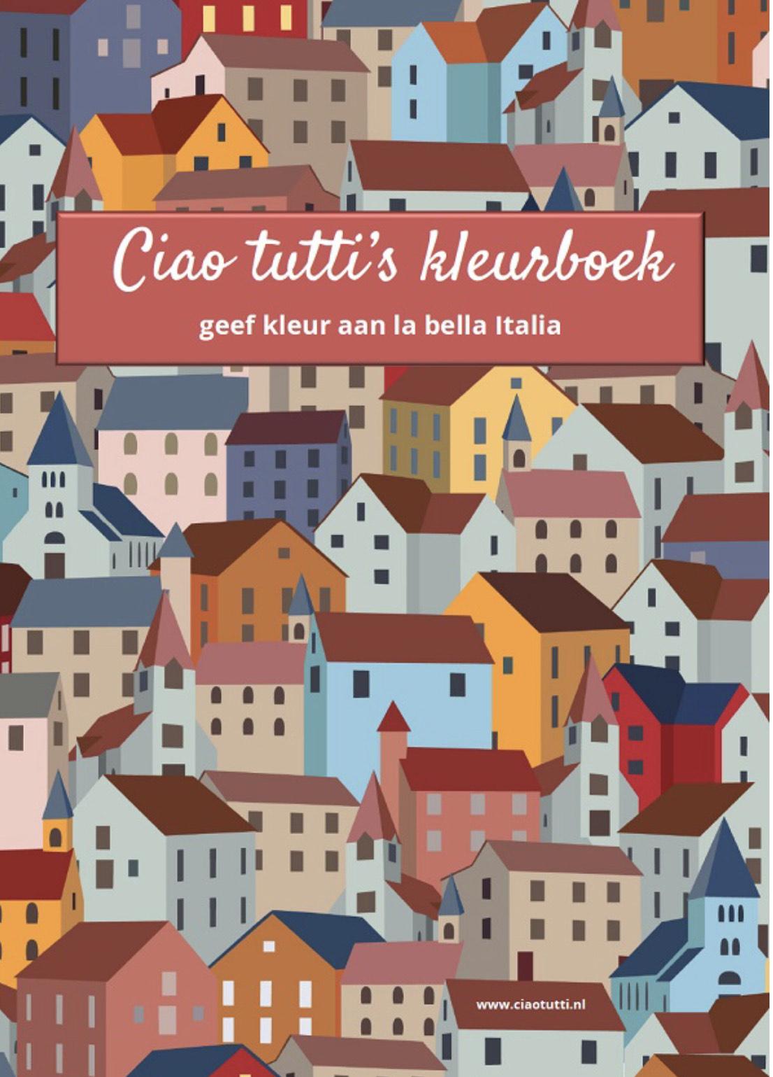 Download gratis het Italië-kerst-kleurboek