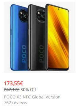 POCO X3 NFC 6GB 64GB 6.67 inch via Banggood.com