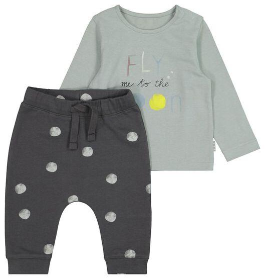 HEMA newborn setje t-shirt en broek 50% korting