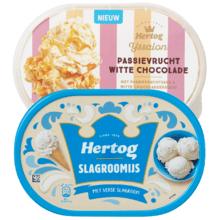 Hertog ijs 1+1 gratis