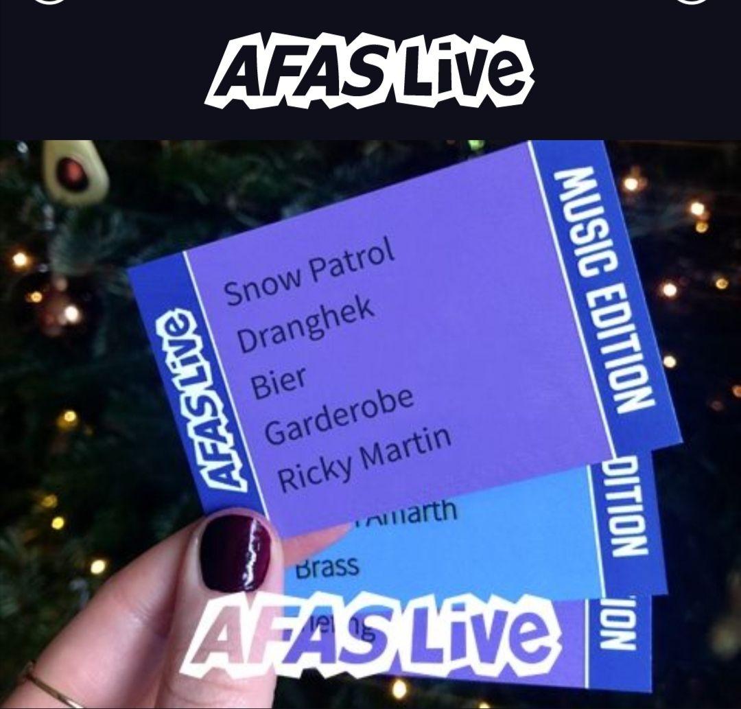 Het AFAS Live Music Edition - DIY Spel