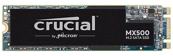 Crucial MX500 SATA 500 GB Interne SSD, 3D NAND, SATA, M.2 bij Amazon NL