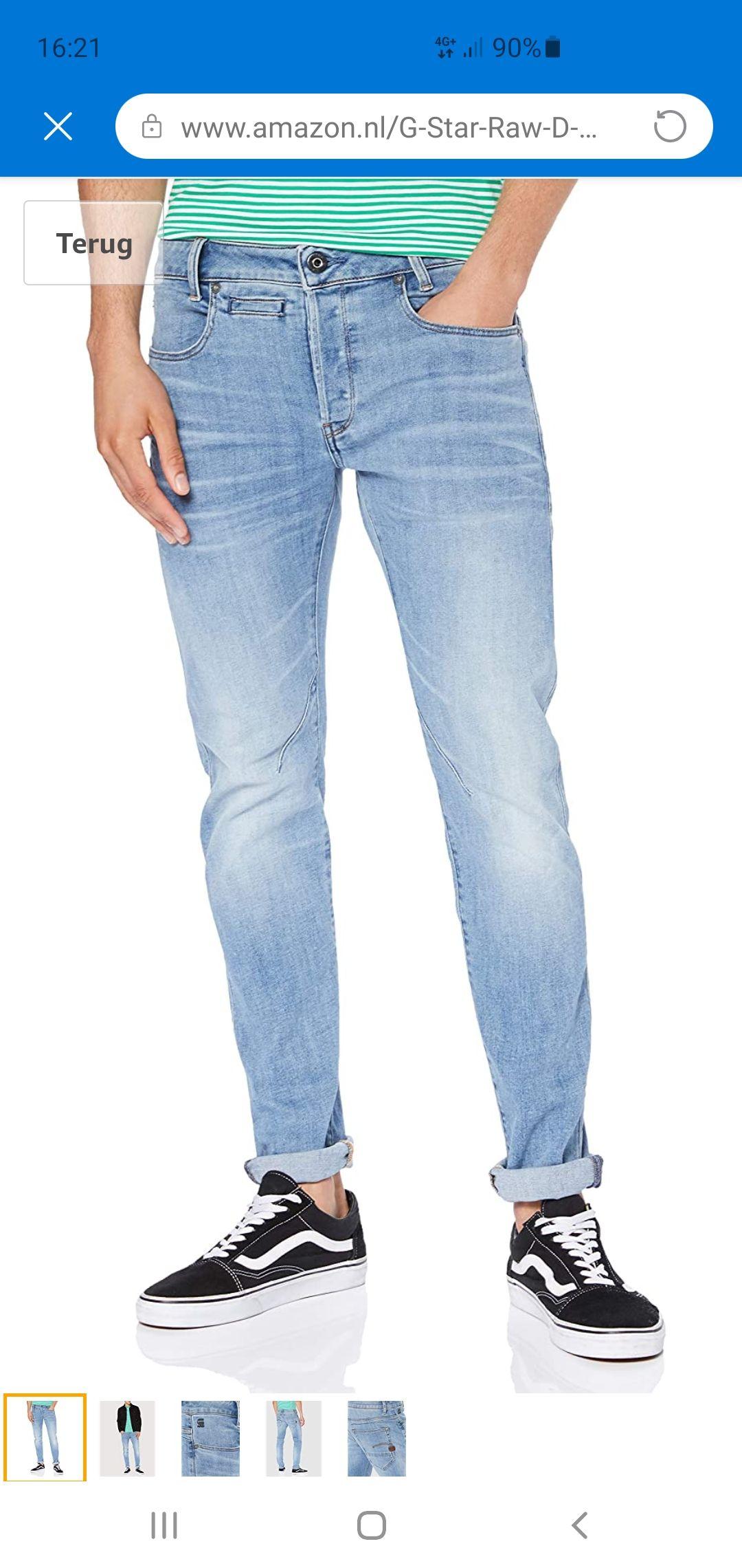 G-STAR RAW Heren Jeans D-staq 5-pocket Slim