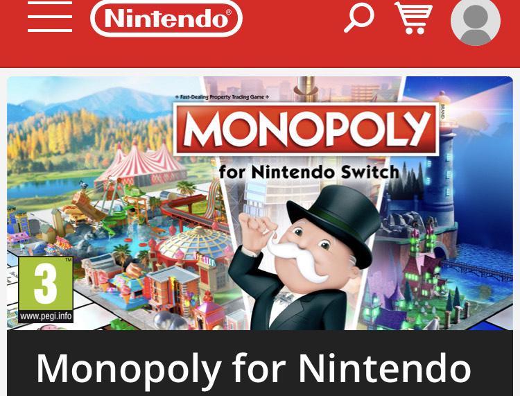 Nintendo Switch: Monopoly