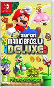New Super Mario Bros U. Deluxe (Nintendo Switch) @Amazon UK