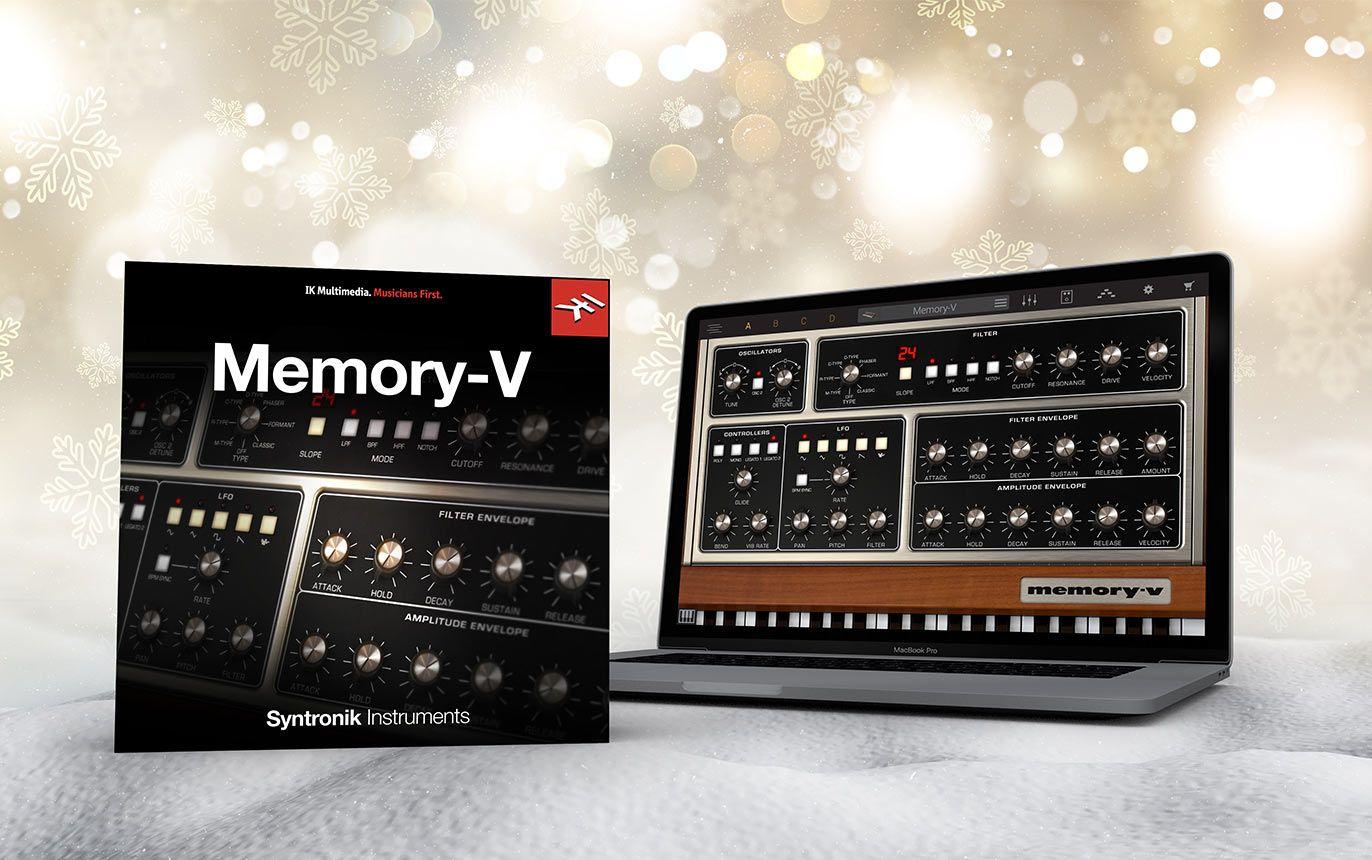IK Multimedia Syntronik Memory-V vst audio plugin
