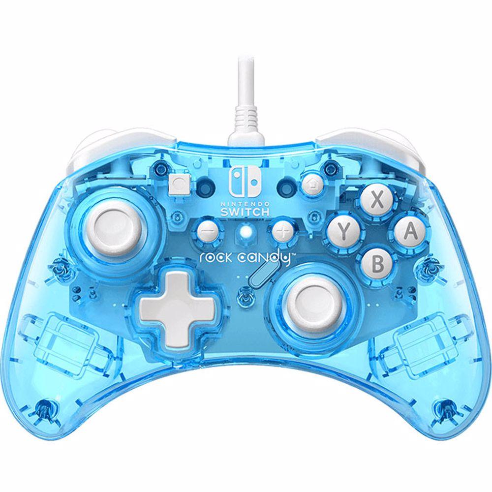 PDP Rock Candy bedrade controller Nintendo Switch (blauw) @ BCC winkels