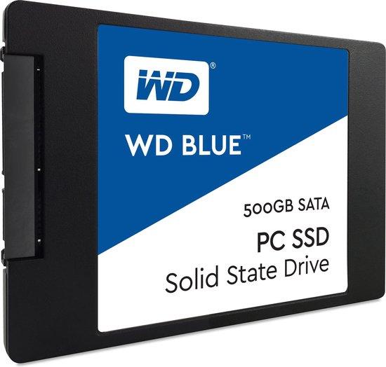 WD Blue - Interne SSD - 500 GB