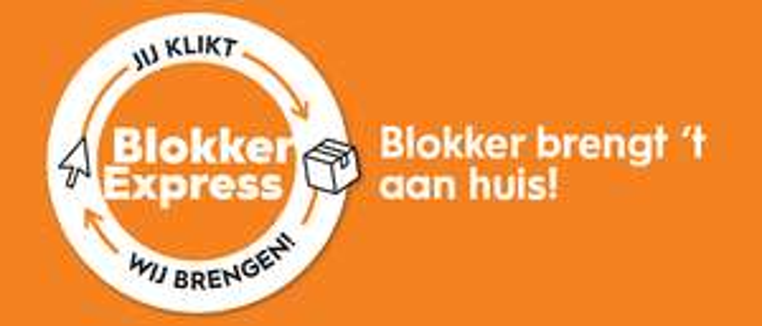 Blokker Express, gratis verzending vanaf €40