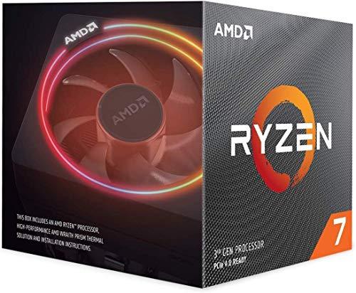 AMD Ryzen 7 3700X-processor, 4 GHz AM4 36 MB cache wraith prisma