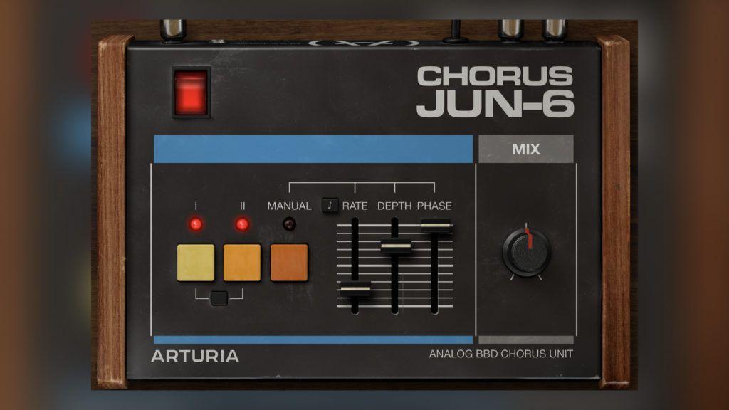 Arturia Jun-6 Chorus audio vst plugin