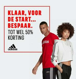 Adidas sale tot -50% + extra 15% | End of season sale